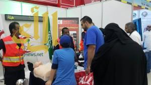 الهلال الأحمر السعودي بالمنطقة الشرقية يشارك في أسبوع المرور الخليجي 2016م