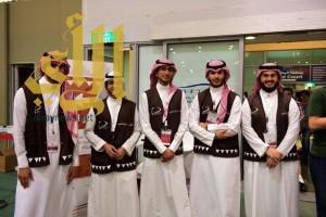 350 شاب وشابة يديرون تنظيم حشود كتاب الرياض بتدريب متقن ونجاح مميز