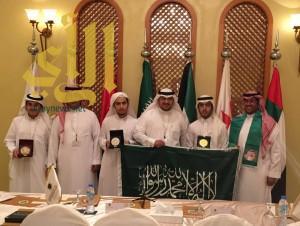 الوفد السعودي يحصد الثلاث ميداليات في اللغة العربية والابداع الشعري