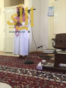 """"""" وقفات مع آيات من القرآن الكريم """" كلمة بمسجد مستشفى وادي الدواسر"""