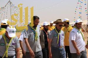 يوم شعبي كشفي  لمناطق ومحافظات المملكة في روضة نورة