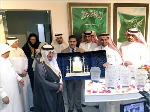 الأمير عبدالله بن تركي يدشن معرض الحزم والعزم بجدة