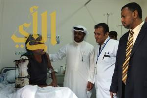 """""""الجرحى اليمنيون"""" ينقلون شكرهم لحكومة خادم الحرمين الشريفين"""