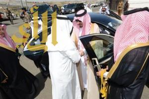 أمير عسير يعزي أسرة أبو حمامة