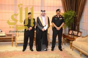 أمير عسير يستقبل نائب مدير الإدارة العامة لدوريات الأمن بالمملكة