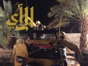 مدني بيشة ينتشل جثة آسيوي بعد سقوطه بحفرة صرف صحي بمركز النقيع