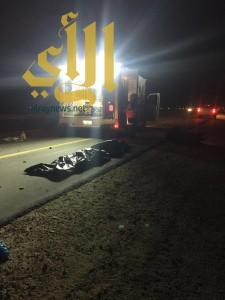 وفاة شخصين بحادث دراجة نارية على طريق سلوى بالأحساء