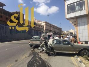 """وفاة و """"11"""" إصابة بحوادث مرورية بمنطقة الباحة"""