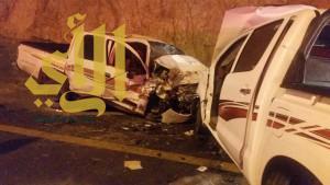 """""""8"""" حوادث مرورية بمنطقة الباحة خلال الـ """"24"""" ساعة الماضية"""