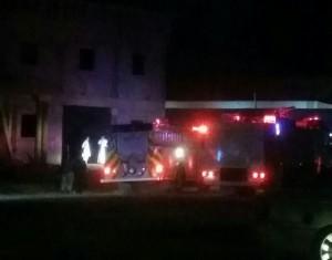 أربع إصابات حرجة لسقوط مبنى تحت الإنشاء بحي الريان بتبوك