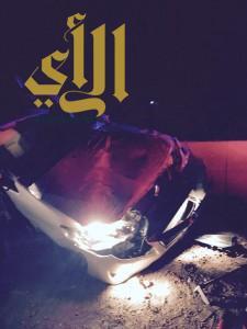 """""""3"""" حالات وفاة و""""6″ إصابات خلال ساعة بالمدينة المنورة"""