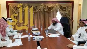 لجنة السياحة والآثار تعقد إجتماعاً بالشؤون الإسلامية بعسير