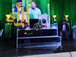 إصابة الشيخ عائض القرني بطلق ناري في الفلبين