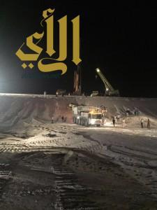 إصابة آسيوي بعد إنقلاب رصّاصة على طريق الرياض – الدمام
