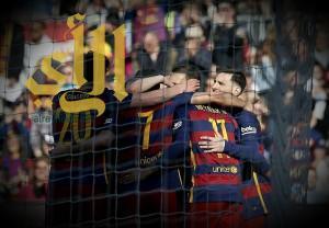 ميسي ونيمار يسطعان ويقودان برشلونة لاكتساح خيتافي