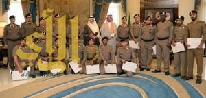 أمير مكة المكرمة يكرم عددا من رجال الأمن في عدة قطاعات