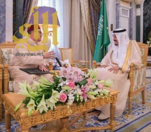 خادم الحرمين الشريفين يتلقى رسالة من جلالة ملك المملكة المغربية