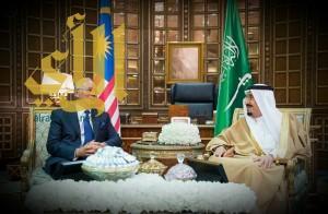 الملك يعقد جلسة مباحثات رسمية مع دولة رئيس وزراء ماليزيا