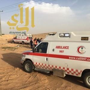 """حالتين وفاة و""""5″ إصابات بحادث سير على طريق مكة – الرياض"""