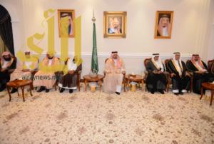 أمير منطقة عسير يستقبل مديري الإدارات الحكومية