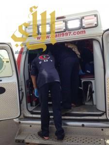 إصابة ثلاثة شبان بعد تعرضهم لحادث سير بدراجة نارية بالمخواة