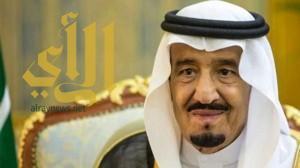 خادم الحرمين الشريفين يتلقى تهنئة ملك البحرين بقرب حلول عيد الفطر