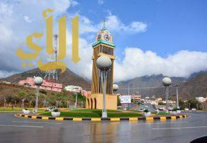 أمطار الخير والرحمة تهطل على محافظة رجال ألمع