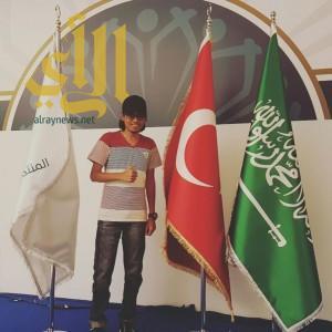عمر عالم يمثل نادي النشامى التطوعي في تركيا