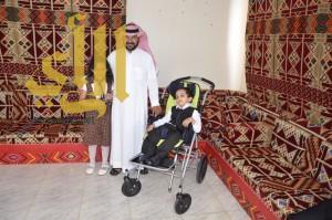 انجازان جديدان في مركز جمعية الأطفال المعوقين بعسير طفل يمشي وآخر يتكلم