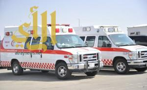 إصابة حرجة لشخص إثر حادث مروري على طريق البديعة بتبوك