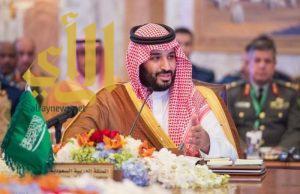 ولي ولي العهد يلتقي رئيسة لجنة الصداقة الخليجية الفرنسية