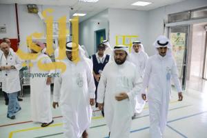 مستشار وزير الصحة يزور عدد من مستشفيات عسير