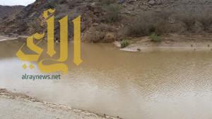 أمطار الرحمة والبركة تهطل على منطقة نجران