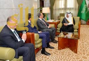 أمير منطقة الرياض يستقبل سفير إيطاليا لدى المملكة