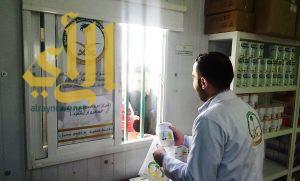 العيادات السعودية تواصل تقديم الحليب لأطفال مخيم الزعتري