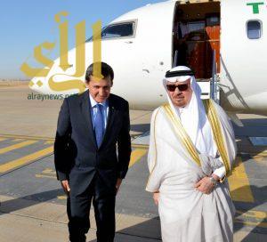 نائب رئيس مجلس الوزراء وزير الخارجية التركمانستاني يصل الرياض