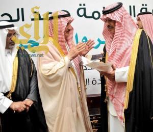 """أمير الباحة يشهد ندوة """"عناية العلامة حمد الجاسر بالسّير والتراجم"""""""