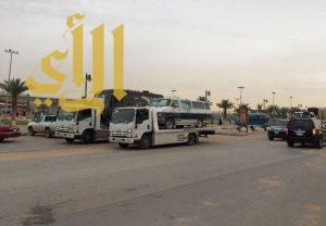 أمانة الرياض تزيل 18 محلاً مخالفاً لبيع المستلزمات النسائية