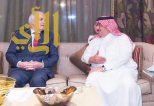 سمو ولي العهد يستقبل وزير الدولة المستشار الخاص لفخامة الرئيس الجزائري