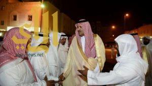 أمير المدينة ينقل تعازي خادم الحرمين لذوي الفقيد الشيخ محمد أيوب