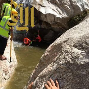 مدني عسير يعثر على جثة مفقود عقبة ساقين