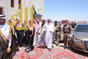 """أمير الباحة يدشن """"56"""" مشروعاً تعليمياً بقيمة """"291"""" مليون ريال"""