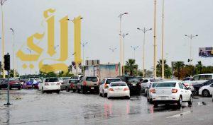 هطول أمطار رعدية مسبوقة بنشاط في الرياح على معظم المملكة