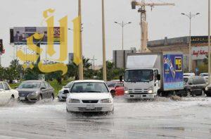 هطول أمطار رعدية مسبوقة بنشاط في الرياح على المملكة
