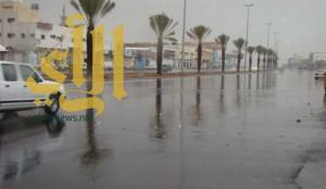 هطول أمطار رعدية غزيرة على جازان وعسير والباحة