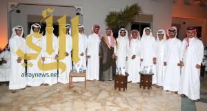 تكريم سعود بن نومه في دولة قطر