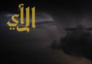 أمطار ساعات الفجر الأولى تنهمر على خميس مشيط وما جاورها