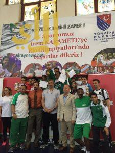 أخضر المبارزة يحقق ذهبية تركيا الدولية