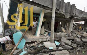 ارتفاع عدد الوفيات جراء زلزال الإكوادور إلى نحو 650