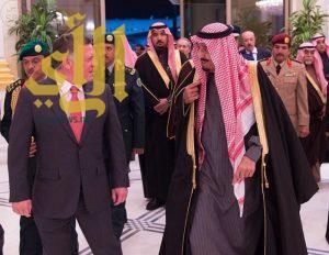 ملك الأردن يصل إلى الرياض في زيارة للمملكة